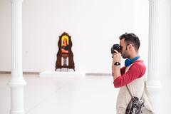(fernando_gm) Tags: street museum museo madrid man retrato retiro portrait hombre human humano person persona calle callejera colour color spain fujifilm fuji f14 35mm xt1
