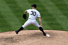 DAVID ROBERTSON (MIKECNY) Tags: pitch pitcher throw davidrobertson yankees mound newyork pinstripes