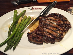 Ribeye (scottnj) Tags: 365the2018edition 3652018 day201365 20jul18 steak food ribeye asparagus knife plate 365project scottnj scottodonnellphotography longhorn steakhouse dinner meal eat tender grill grilled taste tasty