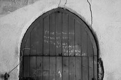 Doorway to Somewhere, Choir Loft, St. Joseph's Parish, B&W (marylea) Tags: blackandwhite blackwhite bw belfry attic door jul13 2018 church catholic romancatholic interior churchinteriors stjosephsparish detroit michigan immigrants gothicrevival gothicrevivalarchitecture religiousart prayerpilgrimages prayerpilgrimageslc mikesemaan