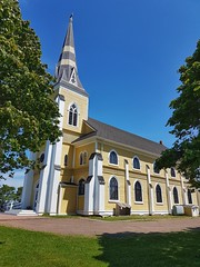 Day 1 - St Patricks Church in Grand River (Bobcatnorth) Tags: stpatrickschurch grandriver princeedwardisland canada summer 2018 pei cycling bicycle touring bicycletouring camping sightseeing