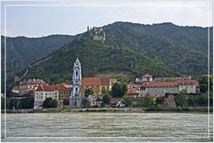 Dürnstein in der Wachau, Austria (Runemaker) Tags: dürnstein wachau danube donau river fluss town village stadt dorf donauradweg danubecycleroute burg castle church kirche architektur architecture austria österreich