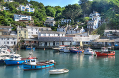 Polperro harbour, Cornwall (Baz Richardson (now away until 30 Nov)) Tags: cornwall polperro fishingboats villages fishingvillages cornishharbours