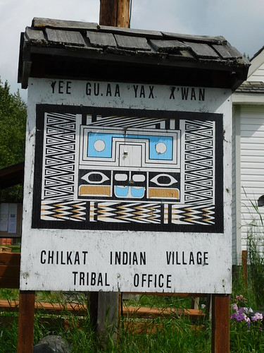 Klukwan Village Tribal Office Sign