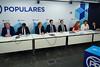 Reunión conjunta de los grupos parlamentarios del Partido Popular del Congreso y Senado