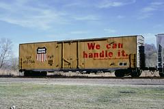 UP Class BI-70-8 492766 (Chuck Zeiler) Tags: up class bi708 492766 railroad boxcar freight car box cotter train chuckzeiler chz