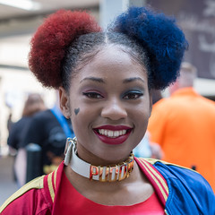 (jwcjr) Tags: 2016dragoncon atlantaga atlantageorgia dragoncon dragoncon2016 pentax people atlanta costume woman face portrait streetportrait