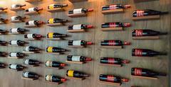 Wine display at Pogo's Kitchen (JavaJoba) Tags: