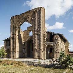 The ruins of Ishratkhana Mausoleum. (Stefano Perego Photography) Tags: stepegphotography stefano perego building central asia