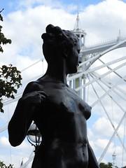 F Derwent Wood RA: bronze nude (petehadfield) Tags: fderwentwood bronzesculpture london sculpture chelseaembankment theembankment publicsculpture publicart albertbridge
