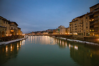 Florence in the Evening