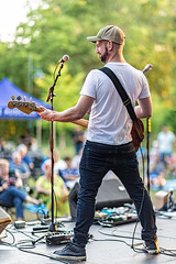 C58R2658 (Nick Kozub) Tags: justin saladino band laval zones musicals festival concert gig live music spectacle fender gibson guitar ruckus fun photography canon day festive supro amp heat bassface evening 1d x 85 f12 ii l