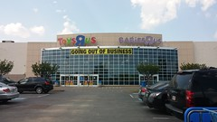 """Toys """"R"""" Gone (Retail Retell) Tags: toys""""r""""us memphis tn commons wolfcreek wolfchase galleria concept 2000 exterior geoffrey giraffe retail liquidation closing bankruptcy going out business former toy store toys r us shelby county babies babies""""r""""us"""