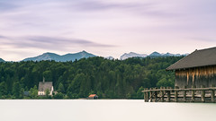 Walchensee and the Alps (redfurwolf) Tags: walchensee bayern bavaria germany lake mountains alps panorama pano forest building outdoor nature landscape redfurwolf sonyalpha a7rm3 sony longexposure sal2470f28za