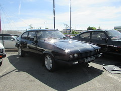 Ford Capri 2.8 Injection Special B473JRP (Andrew 2.8i) Tags: sports sportscar acecafe london capri ford coupe hatch hatchback mark 3 iii mk mk3 german 2800 v6 cologne special injection 28