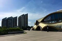 2018 06 - Kartako - kolesarjenje po Ljubljani prostocasno malo naokoli - sramota okoli neodokoncanega sportnega parka Stozice - foto Miha Merljak (miha.merljak) Tags: arena gradbisce stozice ljubljana slovenija si