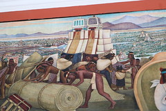 Murals of Revolution and progress by Diego Rivera in the 1920s (Kevin J. Norman) Tags: mexico city national palace palacio nacional mural diego rivera