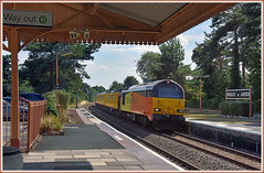 A day in the country (geoff7918) Tags: 6702767023 networkrail test henleyinarden derby tyseley