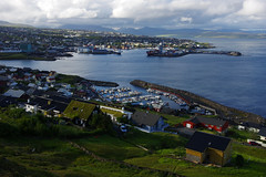Evening view of Tórshavn (Northern Adventures) Tags: north deepnorth faroes faroe faroeislands exploration adventure country countryside landscape scenic scenery walk walking hike hiking trip summer june