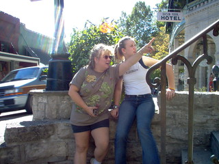 Melissa Doyle and Marriah Jeffries