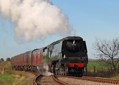 Spam Can (Treflyn) Tags: bulleid west country class 462 pacific 34007 wadebridge junction ruddington great central railway nottingham gcrn russ hillier photo charter spam can