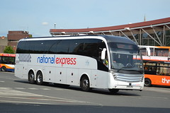 National Express Skills Volvo B11RT BX16CHG - Mansfield (dwb transport photos) Tags: nationalexpress skills volvo caetano levante coach bx16chg mansfield