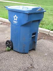 Republic Services Cart (TheTransitCamera) Tags: republicservices ssi bin waste rubbish garabage container wheeliebin champaign illinois city urban
