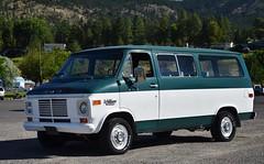 1975 GMC Rally Wagon (Custom_Cab) Tags: 1975 gmc rally wagon rallywagon van window passenger