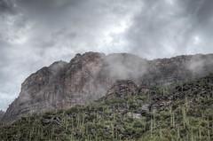sabino-1-20 (melaniemarie83) Tags: sabino canyon tucson arizona desert mountains saguaro clouds overcast