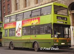 Dublin Bus KD356 (GSI356). (Fred Dean Jnr) Tags: busathacliath dublinbus dublin dublinbustwotonegreenlivery dbrook bombardier kd356 gsi356 si burghquaydublin november1997 dublinbusroute8