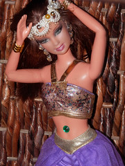Barbie Doll 1001 Arabian Nights (marieschubert1) Tags: fashion doll barbie arabian nights story book belly jewel princess queen dancer clothes diy top pants make up mattel