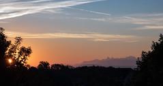 Sunrise near Geneva overlooking the French Alps (photofitzp) Tags: dawn france frenchalps geneva mountains switzerlandcolours sunrise