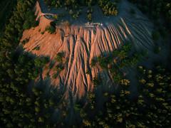 Pithead stock (Michal Jeska) Tags: dji spark aerial drone drohne leftovers mining saarbrücken saarland saar bergbau halde hills dump pithead stock stocks halden