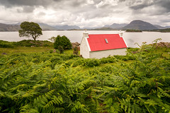 Red Roof House II (Paul C Stokes) Tags: redroofhouse redroofcottage redroof red roof house cottage shieldaig scotland northcoast500 northcoast north coast 500 croft crofthouse westerross wester ross sonya7r2 sonya7rii sony a7r2 a7rii zeiss1635mm zeiss 1635 1635mm loch sel1635z grass water sky landscape lake sea scottish highland highlands