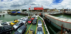 Southampton Ferry Terminal (Beardy Vulcan II) Tags: southampton southamptonwater ferry terminal redfalcon port sea coast ship car town townquay quay hampshire england summer july 2017 vehicle