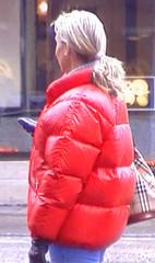 Nylon Down Jacket & Co. (Nylon Down Jacket & Co.) Tags: winterjacke steppjacke skianzug snowsuite puffy jacket downjacket daunenjacke wintermantel coat steppmantel puffyjacket anorak