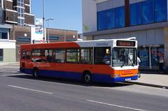 IMGP2322 (Steve Guess) Tags: corby northants northamptonshire england gb uk bus centrebus dennis dart plaxton pointer georgestreet