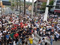 #BLUMENAU PARA #JESUS.  Uma grande Caminhada acontece agora às 16h20 sábado dia 28 de julho, saindo da Câmara de Vereadores na Rua das Palmeiras e seguindo pela Beira Rio até na praça da Prefeitura.  Muitas pessoas nesta concentração de fé, cantos e oraçã