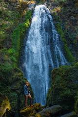 (MeaghaHertz) Tags: waterfall pnw oregon umpqua national forest enchanted a550 sony