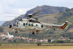 N-7101_HelibrasH225MCaracal_BrazilianNavy_SNHH_Img02 (Tony Osborne - Rotorfocus) Tags: airbus helicopters eurocopter ec725 h225m caracal helibras brazilian navy marinha brazil itajuba heliport 2012