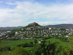 Sévérac-le-Château - Aveyron (Cherryl.B) Tags: cité médiéval village château castle schloss colline paysage ciel occitanie