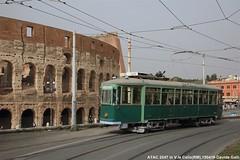 ATAC 2047 (Davuz95) Tags: atac roma sosta colosseo tram carminati toselli 2047