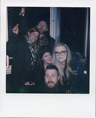 New Year VIII (Magnus Bergström) Tags: polaroid polaroid680slr polaroidoriginals polaroidslr680 instant film instantfilm karlstad sweden sverige värmland wermland color portrait party thoedg00 amlper00 idanil00 matpen00 reband00