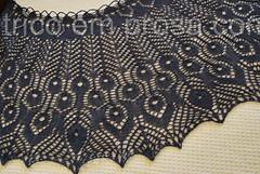 Xale Gamayun Bird (tricô em prosa) Tags: xale shawl renda lace tricô knitting knit algodão cotton grátis handknit feitoamão
