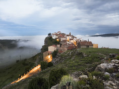 Xodos / Chodos en Castellón. Comunidad Valenciana (:) vicky) Tags: xodos chodos alacatén niebla castellón comunidadvalenciana fog landscape paisaje