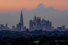 City Hights (JH Images.co.uk) Tags: london skyline city cityscape sunset sky shard towers tower42 clouds