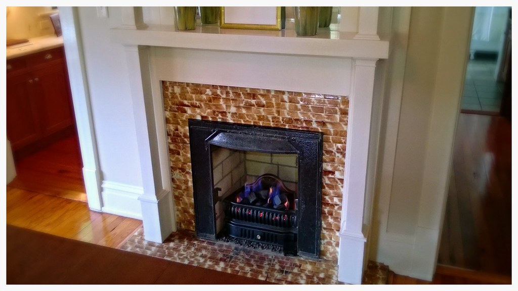 "Custom Gas ""Coal"" fireplace insert. Chattanooga, Tn."