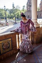 Moda flamenca, Feria de Sevilla 2018. Diseño de Aires de Feria (José Angel Caballero) Tags: sevilla feriadesevilla flamenca airesdeferia plazadeespaña feria2018 sevillana españa andalucia canon 6d m2