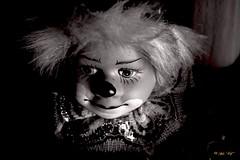 clown (alph@ wolf) Tags: clown sad blackandwhite porträt alphawolf photo pentaxart pentaxk1 pentax photography man