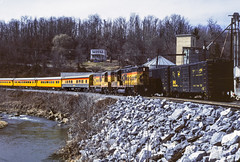 Sykesville (jameshouse473) Tags: passenger patapsco river maryland emd gp7 chessie system bo